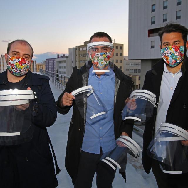 Dr. Piero Marin Živković, Slaven Damjanović i Mario Podrug