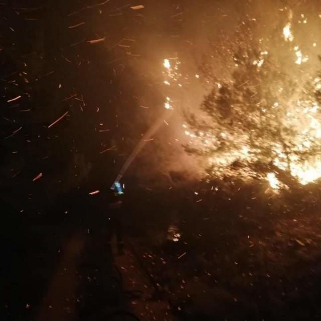 Lokaliziran požar na Mljetu