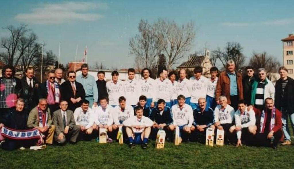 Prva utakmica u slobodnom Vukovaru
