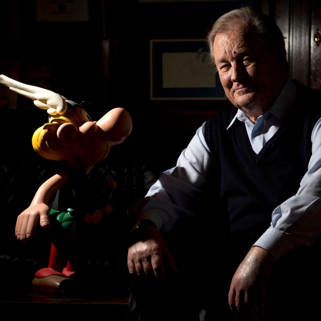 Alberto Uderzo i Asterix