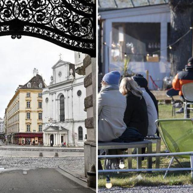 Austrija je bila jedna od prvih europskih zemalja koje su uvele stroge restrikcije kretanja i zatvorile dućane i škole, uviđajući kako se situacija razvija u susjednoj Italiji. Švedska je izabrala drugačiji pristup i put, ostavljajući otvorenima osnovne škole, restorane i barove koji su u subotu bili puni.