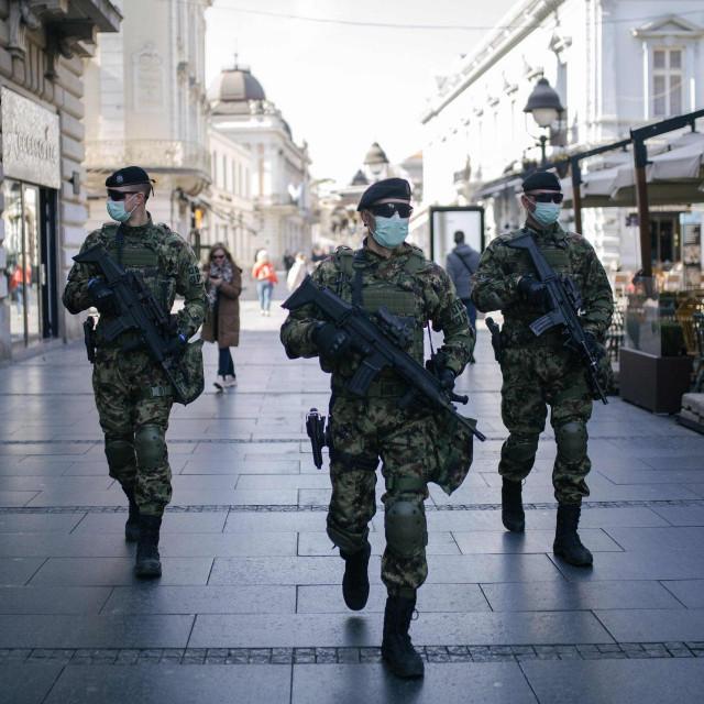Vojska na ulicama Beograda