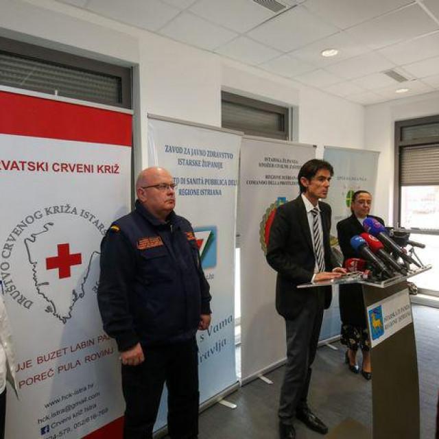 Stožer civilne zaštite Istarske županije donosi dobre vijesti