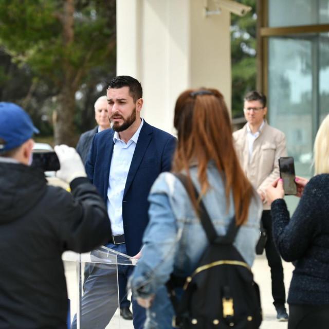 Čelna osoba Županijskog stožera civilne zaštite Joško Cebalo