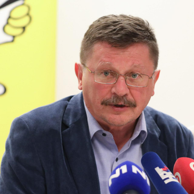 Predsjednik Matice hrvatskih sindikata Vilim Ribić