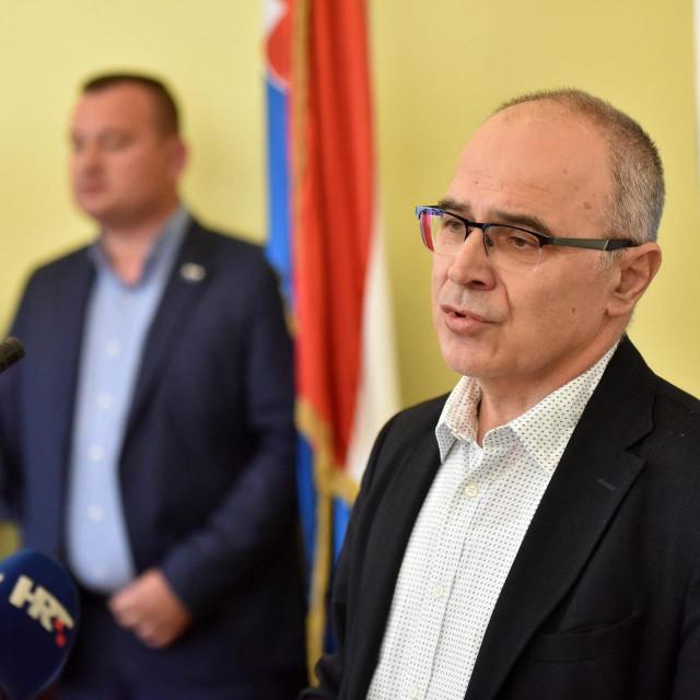 Ravnatelj OB Zadar Željko Čulina.<br />