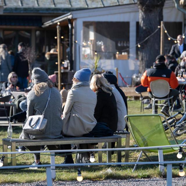 Život na ulicama Stockholma nije stao