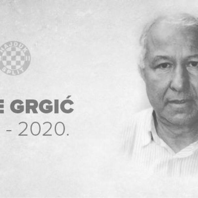 Ante Grgić preminuo je u 80. godini života