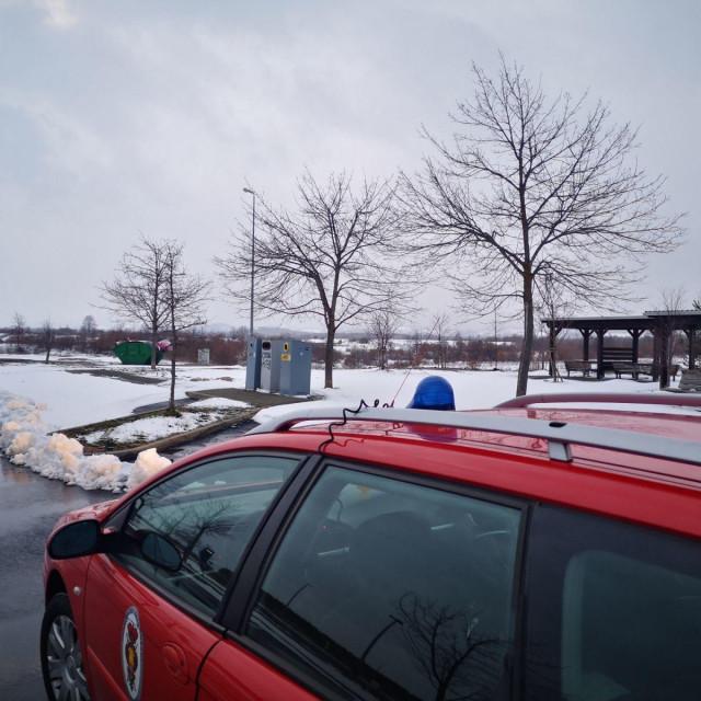 Dubrovački vatrogasci svakodnevno u Zagreb prevoze uzorke krvi za testiranje na koronavirus
