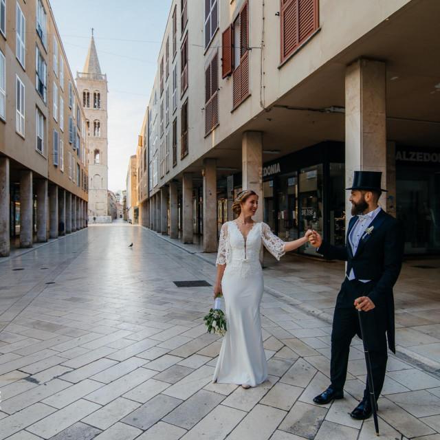 Mladenci Dean i Ana odlučili su imati vjenčanje koroni usprkos