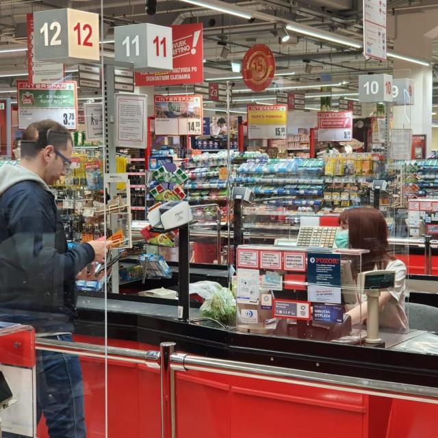 Zaštitne mjere u trgovinama SPAR-a