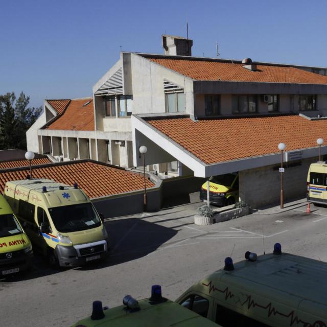 Trijažna ambulanta bila je prvotno planirana u makarskom Domu zdravlja