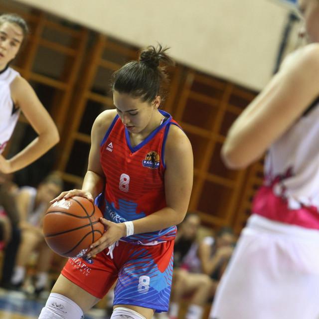 Ana Haklička, košarkašica Raguse foto Tonči Vlašić