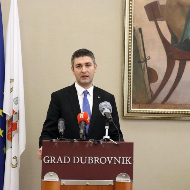 dubrovački gradonačelnik Mato Franković