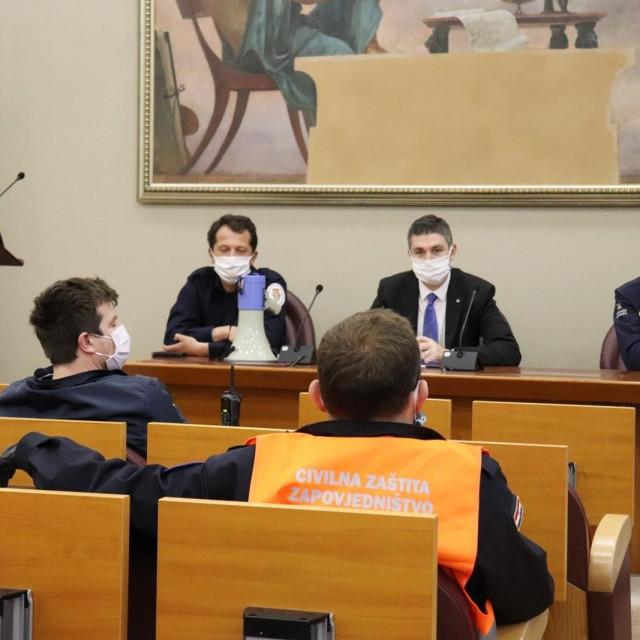 Sastanak voditelja timova povjerenika i zamjenika civilne zaštite Grada Dubrovnika
