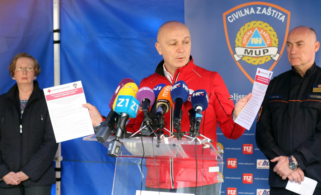 Robert Markt, izvršni predsjednik Hrvatskog Crvenog križa