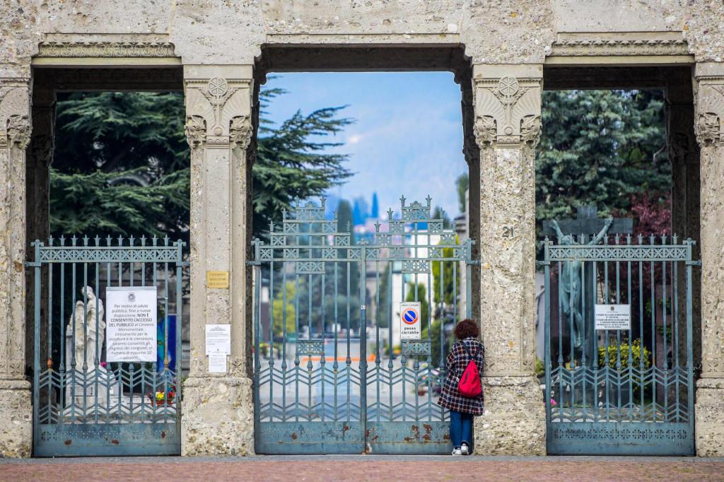 U Berggamu je zatvoreno čak i groblje