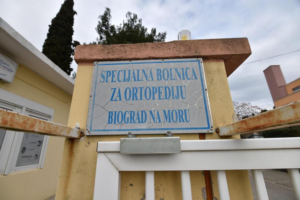 Specijalna bolnica za ortopediju u Biogradu na moru.<br />