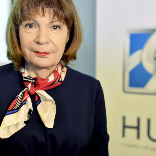 Gordana Deranja, predsjednica HUP-a<br />