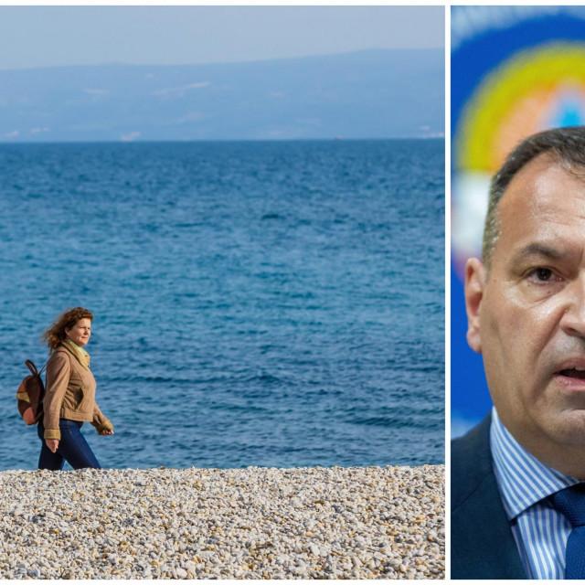 Ministar kaže da je dobro šetati, ali ne u društvu i ne na mjestima gdje se očekuje puno ljudi