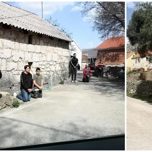 Don Mijo Grozdanić tri i pol sata obilazio je vjernike u Župi Katuni -Kreševo