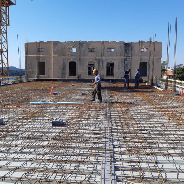Gradilište studentskog doma Palacin