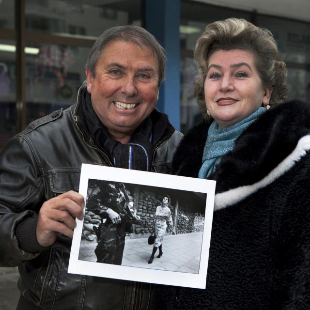 Meliha s Tomom Stoddartom, autorom legendarne fotografije koja je postala planetarno poznata