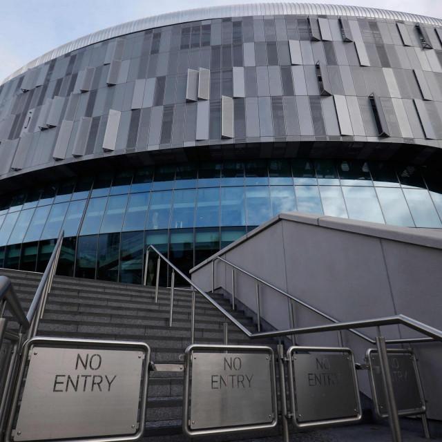 Na stadionu Tottenhama garaže se koriste kao skladišta
