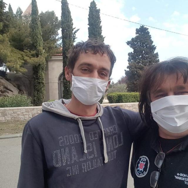 Stjepan (lijevo) i Ivica