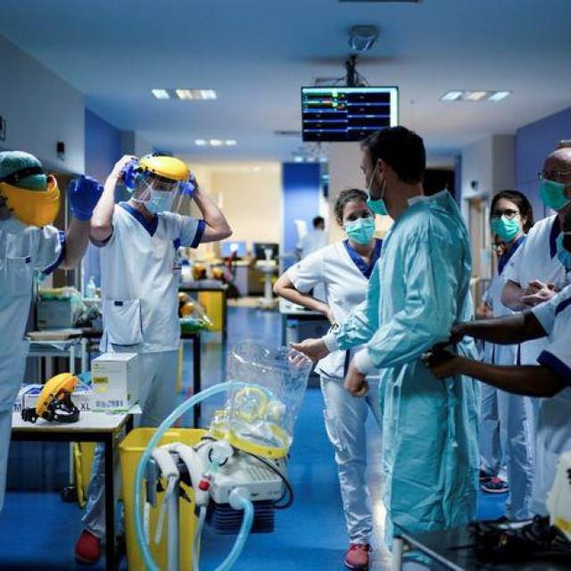 Zdravstveni radnici u Belgiji