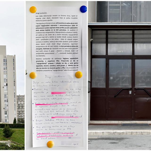 Predstavnik stanara u Karamanovoj 4 u Splitu izradio je praktični vodič za život u zgradi u doba korone