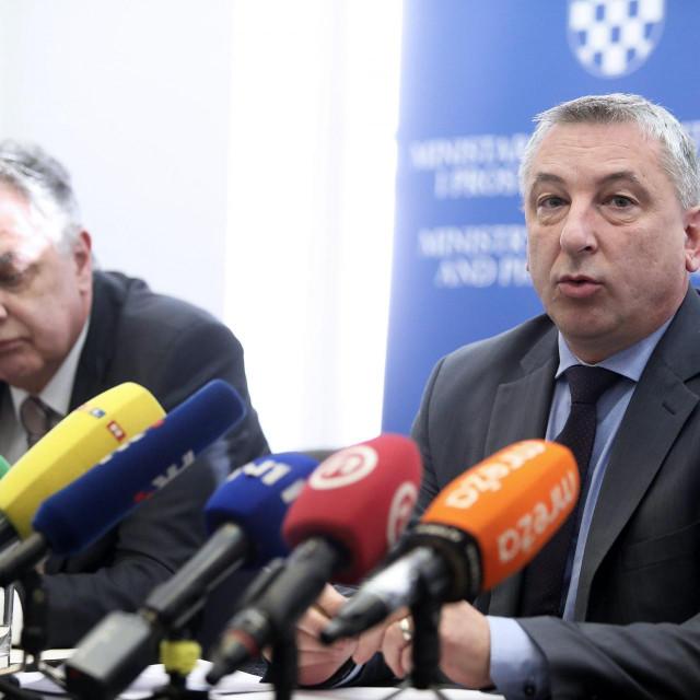 Ministar graditeljstva i prostornoga uređenja Predrag Štromar