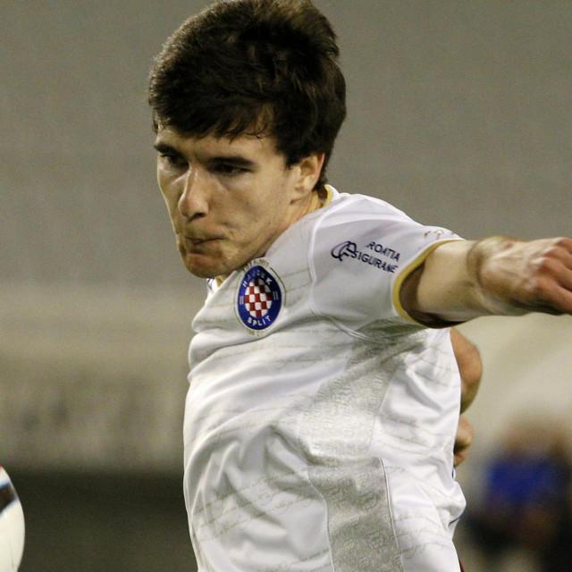 Lendrić u dresu Hajduka