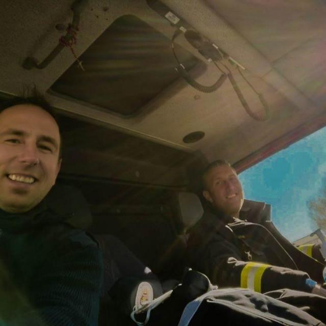 Dubrovački vatrogasci u Zagrebu