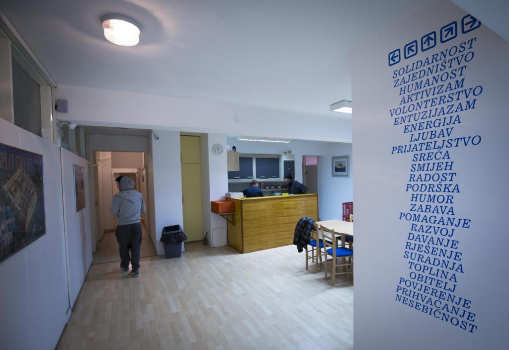 Prihvatilšte u Centru za beskućnike Udruge Most je dupkom puno<br />