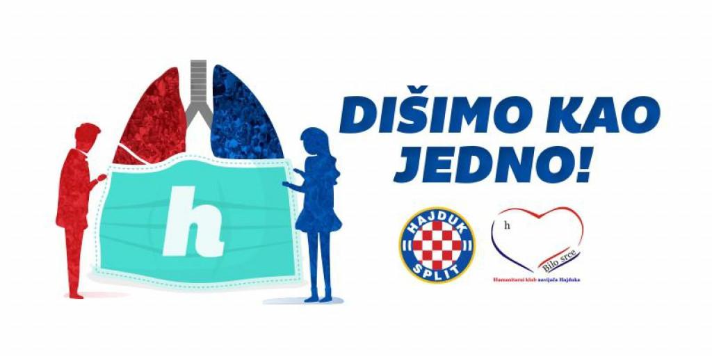 Logo humanitarne akcije Hajduka i Bilog srca