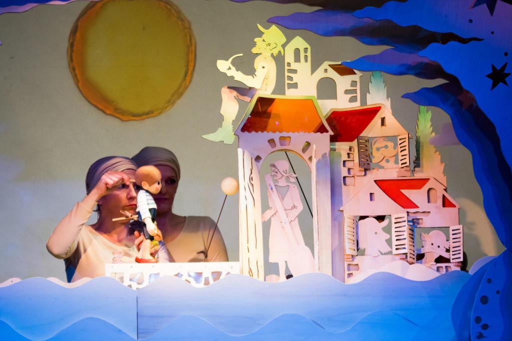Prizor iz predstave koja se obrađuje u sklopu 'Škole na daljinu'