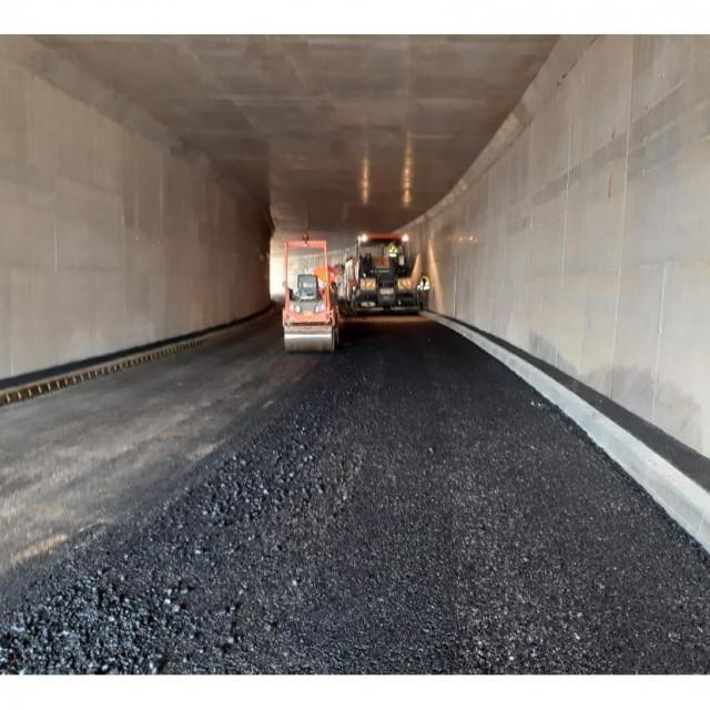 Izgradnja podvožnjaka ispod rulnice Zračne luke u Zemuniku