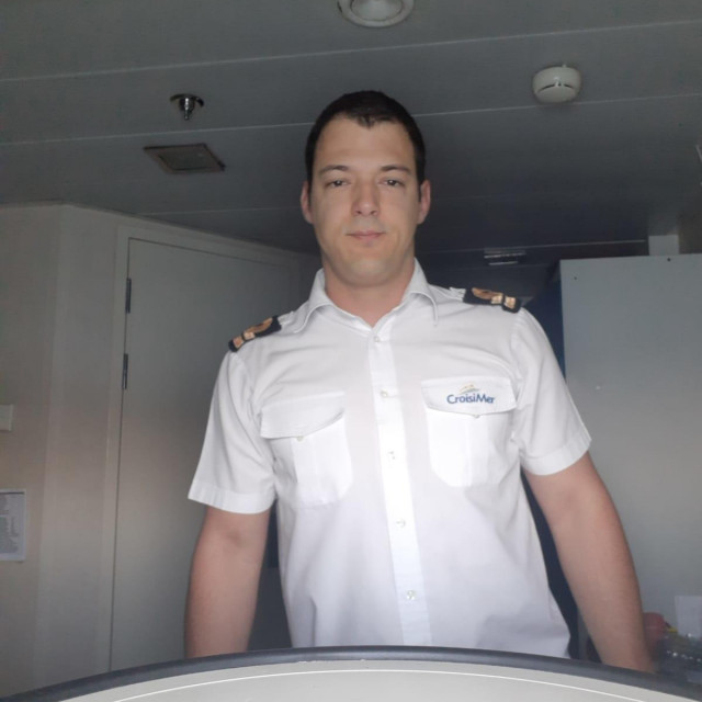 """Hrvoje Svetac je drugi časnik palube na kruzeru """"La Belle de l'Adriatic"""""""