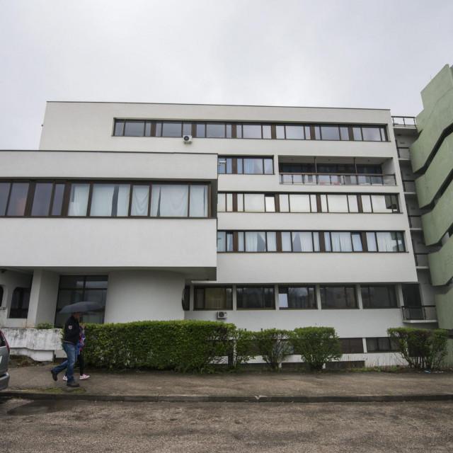 Knin, 100419.<br /> Opca bolnica u gradu Kninu.<br />