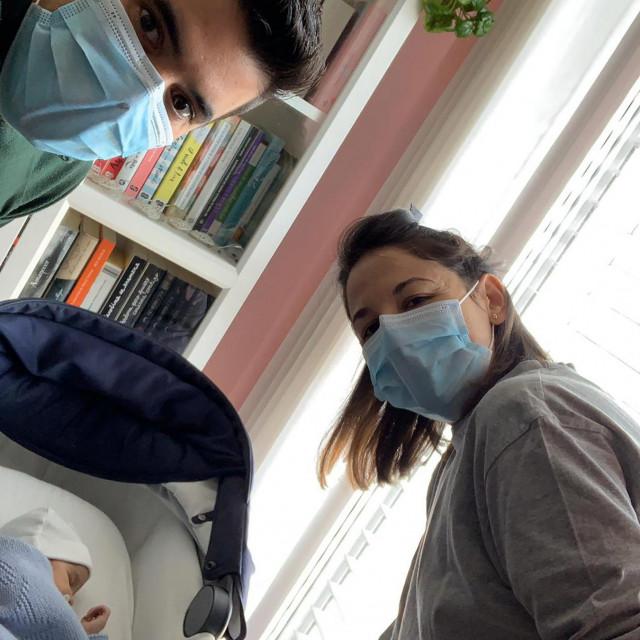 Vanesa i suprug Oscar bili su pozitivni na koronavirus, porod carskim rezom prošao je dobro, rodio se zdravi dječak