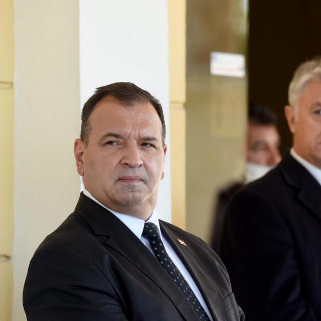 Ministar Vili Beroš i župan Božidar Longin