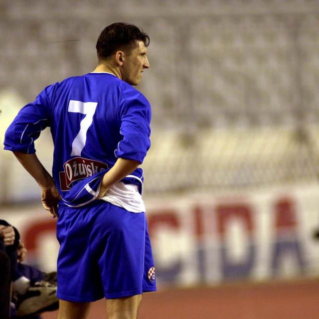Silvio Marić u dresu Dinama na Trofeju Marjan 2002. godine