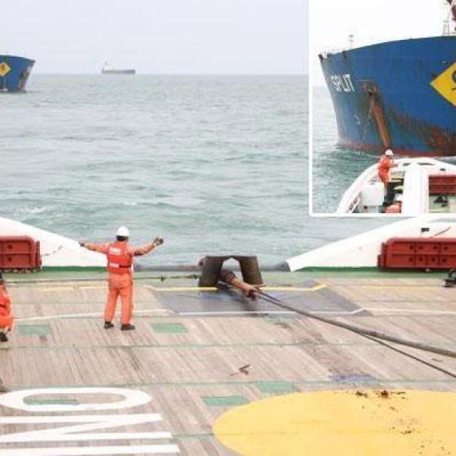"""Brod """"Split"""" u vlasništvu """"Jadroplova"""" lani je bio u nevolji"""