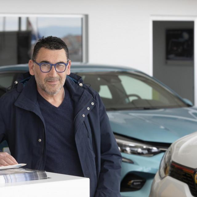 Mario Franolić, direktor prodaje u Auto kući Gašperov u Splitu