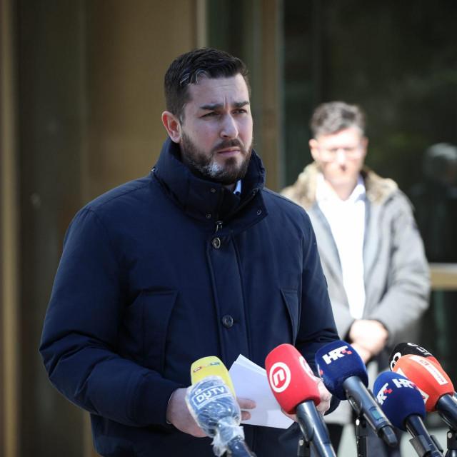 čelnik županijskog Stožera civilne zastite Joško Cebalo