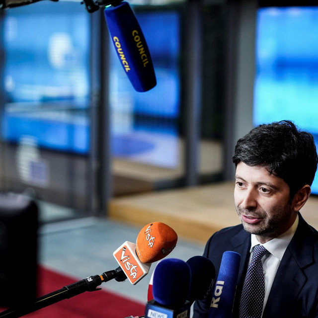 Talijanski ministar zdravlja Roberto Speranza