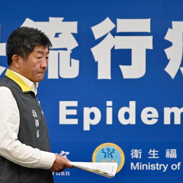 Tajvanski ministar zdravstva Chen Shih-chung