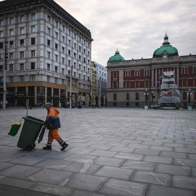Prizor s beogradskih ulica