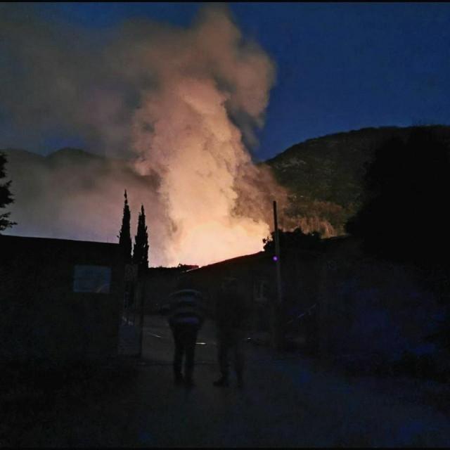 Gori na Korčuli i Pelješcu
